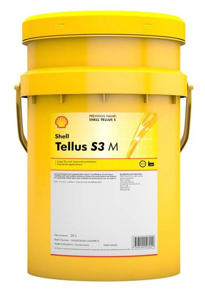 Масло SHELL Tellus S3 M 100 - 209 л.