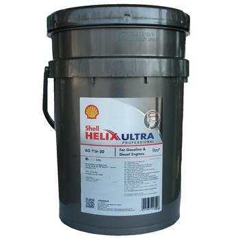 Масло SHELL 5/30 Helix Ultra Professional AG - 209 л.