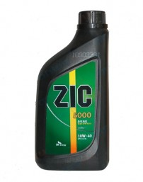Масло ZIC 15/40 5000 Cl-4 POWER дизель п/син 6 л.