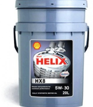 Масло SHELL 5/30 Helix HX8 Syn - 20 л.